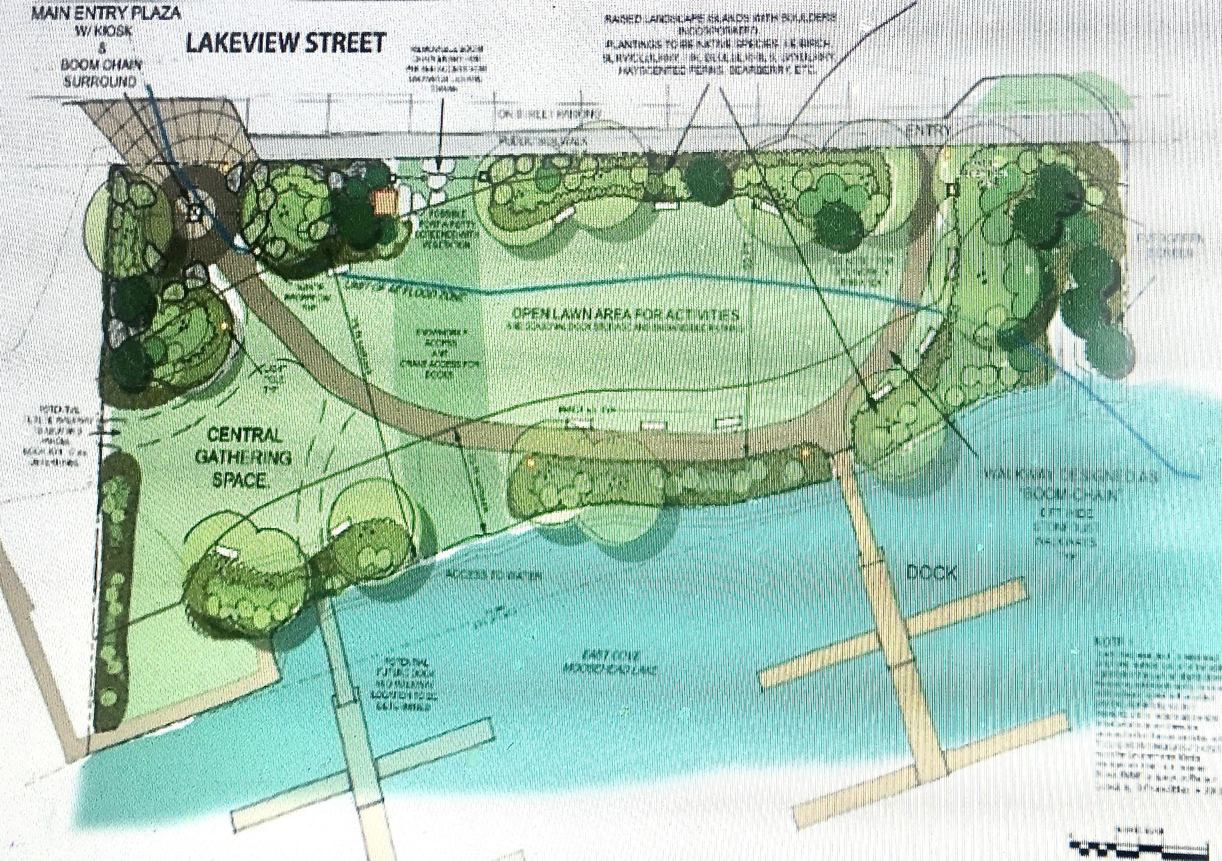 Drawing of Crafts Landing Park