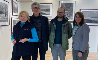 Governor Mills Tours Monson Arts with Stuart Kestenbaum